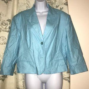 NWT George blue blazer